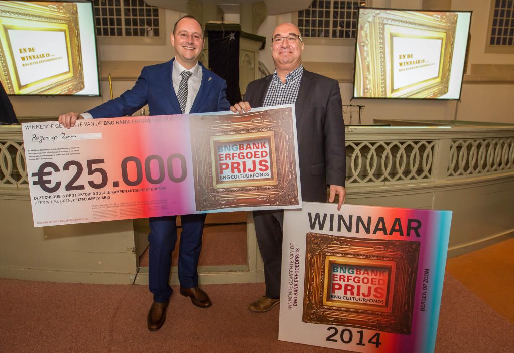 Winnaar Bergen op Zoom - BNG Bank Erfgoedprijs 2014
